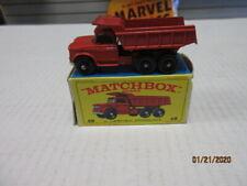 VINTAGE MATCHBOX #48 DODGE DUMPER TRUCK IN F BOX.