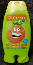 Avon Naturals Kids OUTGOING ORANGE Body Wash & Bubble Bath ~ 8.4 oz ~ Tear-Free