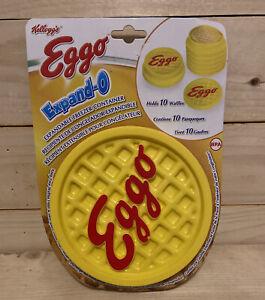 NEW Kellogg's Eggo Expand-O Expandable Freezer Container Holds 10 Waffles 2012
