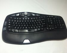 Logitech Wave Y-RCP140 Canada 310 kabellose Tastatur (Tastatur nur)