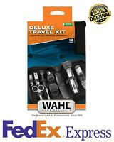 WAHL 5604-616 Cordless 12 Pcs Travel Kit All Beard Nose Hair Trimmer Groomer