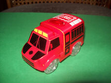 TRAX FIRE RED CAR - WITH LED LIGHT RED & VIOLET AND MOVING