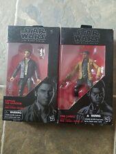 Star Wars The Black Series Poe Dameron And Finn