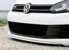 VW GTI MK6 6 Euro Lower Front Bumper Chin Spoiler Lip Sport Valance Diffuser GT
