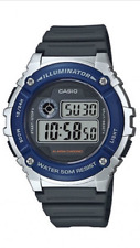 Casio Kids W-216 W-216H-2AVDF Digital Watch Alarm Chrono 50m W216&Envelope Gift