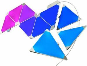 *NEW* Nanoleaf Aurora Rhythm 9pk Modular Multicolor Light Panel - Smarter Kit