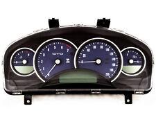 04-06 Pontiac GTO Holden Commodore 200mph Instrument Gauge Cluster Bermuda Blue