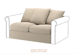GRONLID Cover for Two-Seater Sofa Section in Sporda Natural: 203.986.45|| IKEA