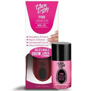 Thin Lizzy Pink Armour Nail Gel 13.3ml Help Nail Gel Grows Longer