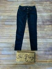 AMERICAN EAGLE Sz 2 Dark Blue Stretch Jeggings Jeans