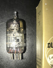 GE 6BQ7A Vintage Vacuum Tube Grey Plate O Getter Guaranteed to Function