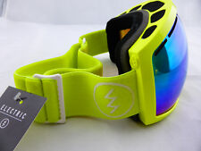 Electric EG2 Snow Goggles Toxic Snot - Bronze/Green Chrome with Hard Case