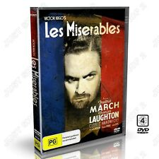 Les Miserables (1935) - Victor Hugo : Charles Laughton Fredric March : New DVD