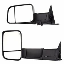 Power Heated Telescoping Tow Mirror L/R For 98-01 Dodge Ram 1500/98-02 2500 3500