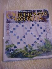 Better Homes & Gardens Quilt-Lovers' Favorites How to Book Vol 2