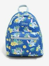 Loungefly Disney Lilo & Stitch Mini Backpack Tropical Flowers Leaves