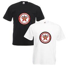 Texaco T-Shirt Vintage Logo VARIOUS SIZES & COLOURS Car Enthusiast