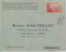 81122 - MADAGASCAR - POSTAL HISTORY - ADVERTISING  COVER 1940  Medicine CHEMIST