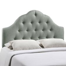 Modway Furniture Sovereign Queen Fabric Headboard, Gray - MOD-5162-GRY