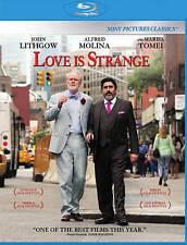DVD: Love Is Strange [Blu-ray], Ira Sachs. Good Cond.: Cheyenne Jackson, John Li