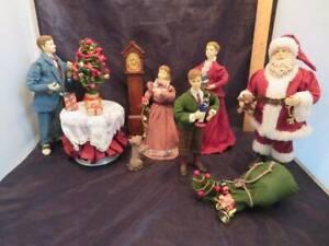 Grandeur Noel 12 pcs Santa's Visit Set with Box