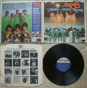 Diana Ross / Supremes / Temptations - TCB - Motown MS 682 - USA Stereo VG+ LP