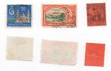1896 to 1960 TRINIDAD + TRINIDAD & TOBAGO - 3 x Used Stamps