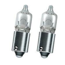 2x H6W Clear White Standlicht Lampen 12V 6W  - BMW 1er