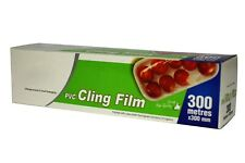 1 XCLEAR STRONG Catering Cling Film Cutter Box  300mm x 300m Food wrap