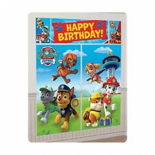 Paw Patrol Happy Birthday Scene Setter Banner Wall Decoration Puppy Pets Party