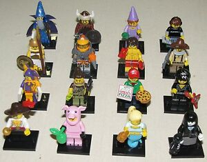 LEGO NEW SERIES 12 MINIFIGURES 71007 YOU PICK MINIFIGS UNUSED ONLINE GAME CODE