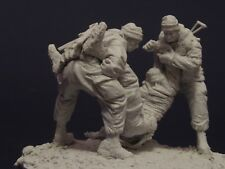 AC Models Russian Soldiers Hell in Chechnaya 3 figures 75mm Unpainted resin kit