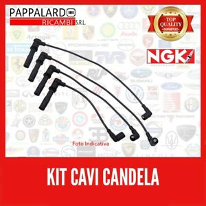 ngk Kit Serie Cavi Fiat Grande Punto 1.4 57kw - 77cv NGK