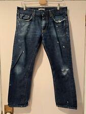 Uniqlo Slim Straight Salvage Denim Jeans Size 33/25.5 Inseam