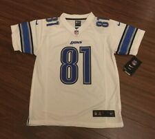 Calvin Johnson Detroit Lions Nike Game Jersey Youth Medium New With Tags