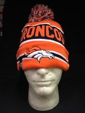 Denver Broncos The Coach Sport Knit Hat beanie by New Era With Pom Manning