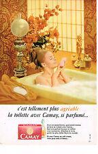 PUBLICITE  1967   CAMAY   savon  tellemnt plus agréable
