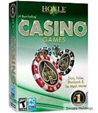 HOYLE CASINO GAMES + HOYLE SLOTS (2 PC Games) Win 7 / VISTA / XP * BRAND NEW