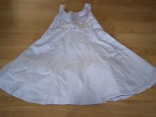 Girls Size 6 Bonnie JeanLilac Purple Easter Dress Floral Embroidery Overlay EUC