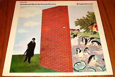 GEORGE HARRISON WONDERWALL MUSIC BY GOERGE HARRISON ORIGINAL IMPORT LP FRANCE