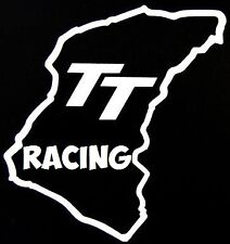 "small 4x4"" tt racing circuit vinyl car bonnet side sticker graphics motorbike"