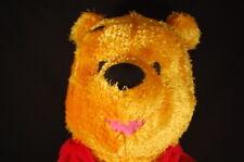 "Disney Winnie The Pooh Bear Floppy Red Shirt Plush 19"" Toy Fisher Price Lovey"