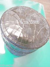 Custodia vivitar originale vintage per obiettivo obiettivi obbiettivo 7,5 cm x7