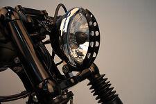 Griglia Kamikaze Nera Hole per Faro Anteriore Harley Davidson Sportster
