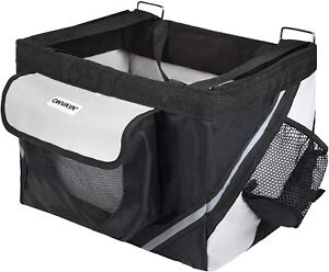 ONVAYA® Fahrradkorb   Hundekorb für Lenker vorne   Hundefahrradkorb   Frontbox