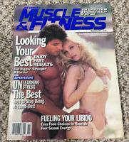 Muscle & Fitness bodybuilding magazine/ November 1992 /MILOS SARCEV