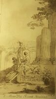 """1825 Vintage Print- """" E Museo Dni Ricardi Houlditch"""" By C. G. PANINI,"""