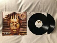 1999 Nas I Am... 2LP Vinyl Album Columbia Records C2 68773VG+/VG Original Press
