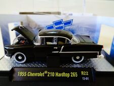 M2 MACHINES AUTO THENTICS  1955 CHEVROLET HARDTOP   w/CASE  R22 1:64