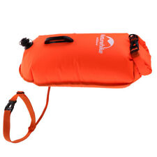Adult Children Swim Buoy Safety Tow Float Dry Bag with Adjustable Waist Belt